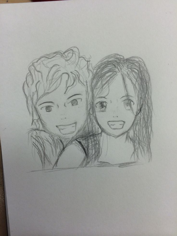 Me and my bf first attempt couple love manga drawing