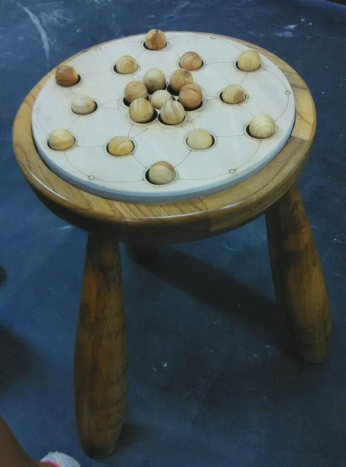 Stool with strange feeling by Dhika Lana. WS2 DP 2014 UPH, Feb2017