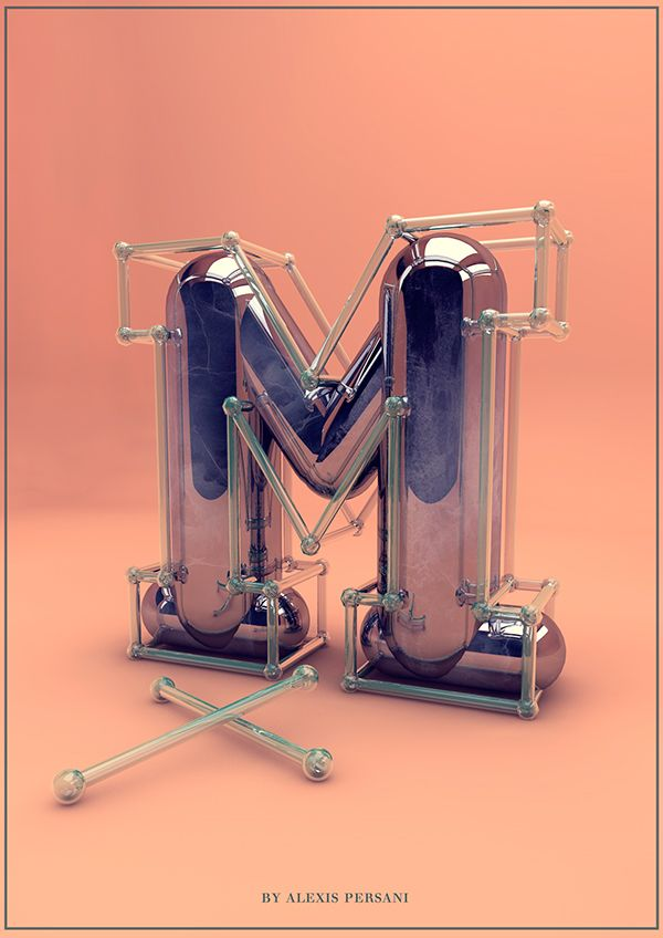 Creative Alphabet by Alexis Persani   Abduzeedo Design Inspiration