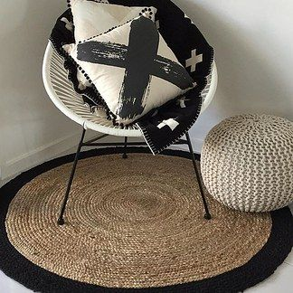 Jute rug - $29 | 23 Clever Kmart Hacks That'll Take Your Decor To The Next Level