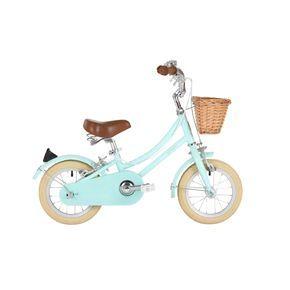 Wiggle France   Vélos enfant - Moins de 7 ans   Vélo Fille Bobbin Gingersnap 12 pouces (vert menthe pâle)