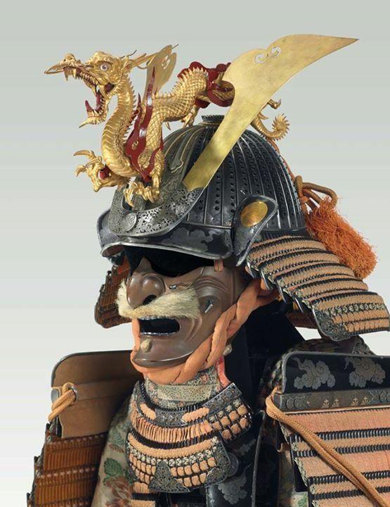 Heavy decorated samurai helmet                                                                                                                                                                                 Más