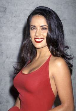 Salma Hayek at the Los Angeles Premiere of Desperado on August 21, 1995 - Jim Smeal/WireImage