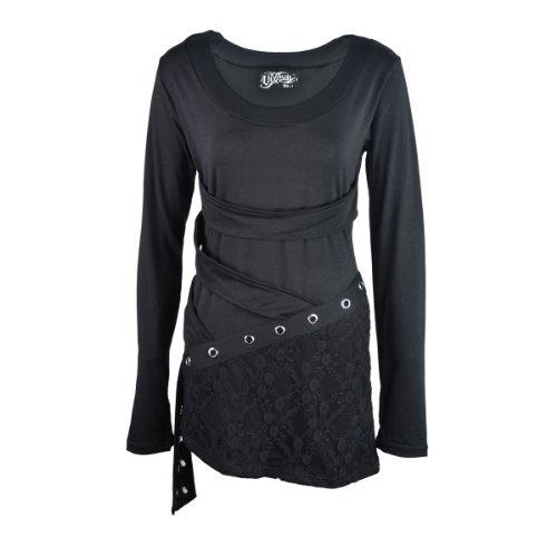 Mira Top Ladies (Vixxsin) New Gothic Emo Punk Osiris Fashion