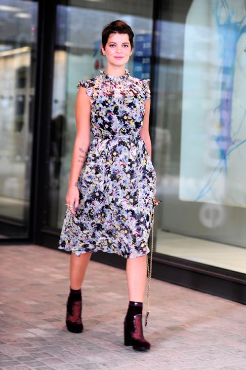 #PixieGeldof looking fab in London. #WayneTippetts