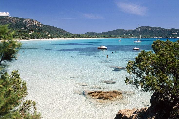 Palombaggia, Korsika (GEO 08/12: Von Nordsee bis Mittelmeer: Die schönsten Strände Europas)