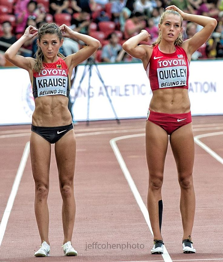 It's a beautiful thing when a woman has a well-trained body and mind. I commend these women for the hard work they've put into that!