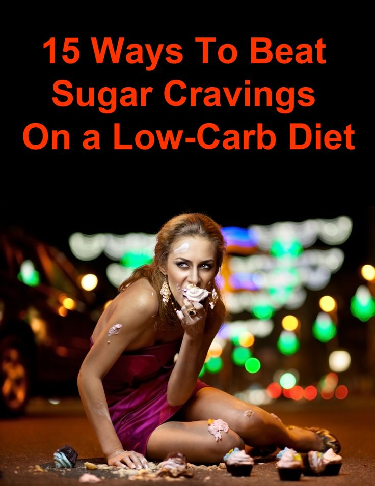 Low-carb diets can cause sugar cravings - have a look at these tips on how to beat them