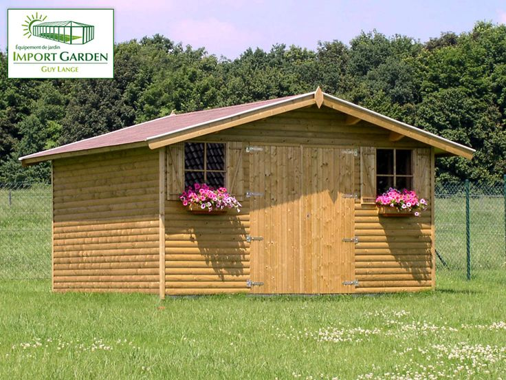Qualité des matériaux et  durée de vie de votre abri de #jardin ? Faites appel à Import Garden !