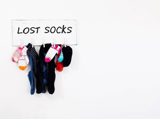 The Most Popular Conspiracy Theories Behind Your Missing Socks