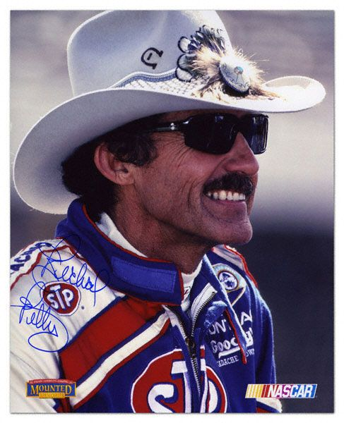 Richard Petty - from North Carolina ......  .......   The NASCAR KING!!!! He started with stock car races on Saturday night back in the 50's and now we have Nascar!