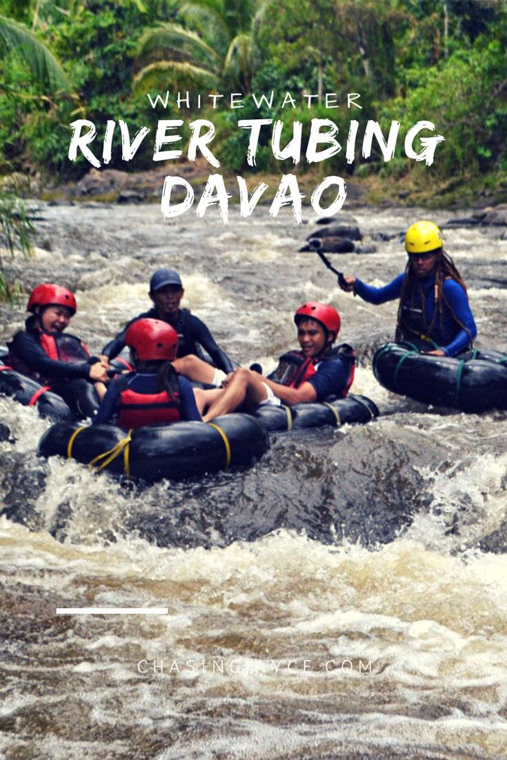 Whitewater River Tubing in Davao City, Philippines