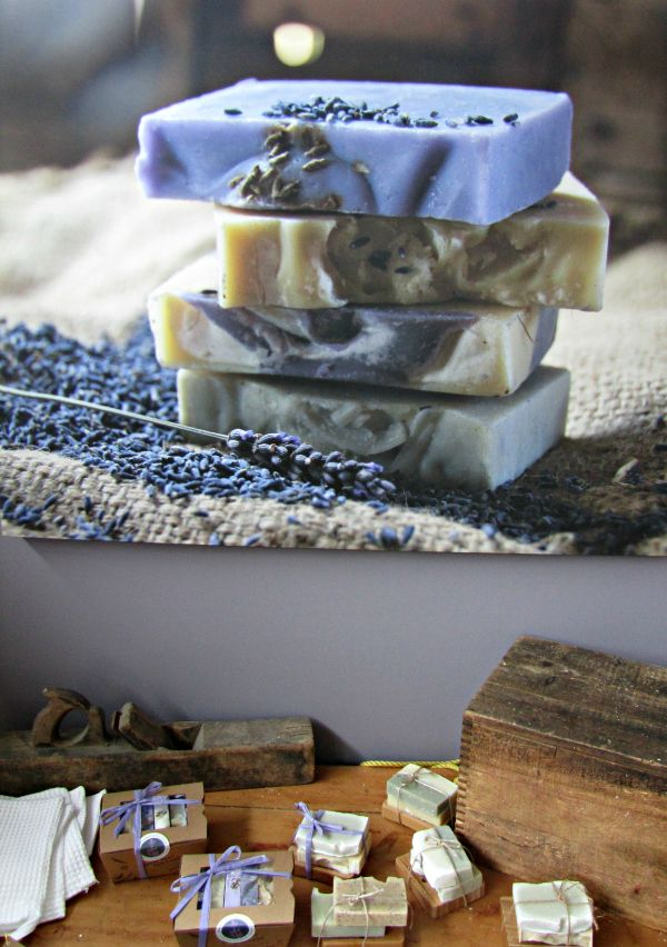 Port Arthur Lavender: soap from the gift shop #Tasmania Photo and article for think-tasmania.com