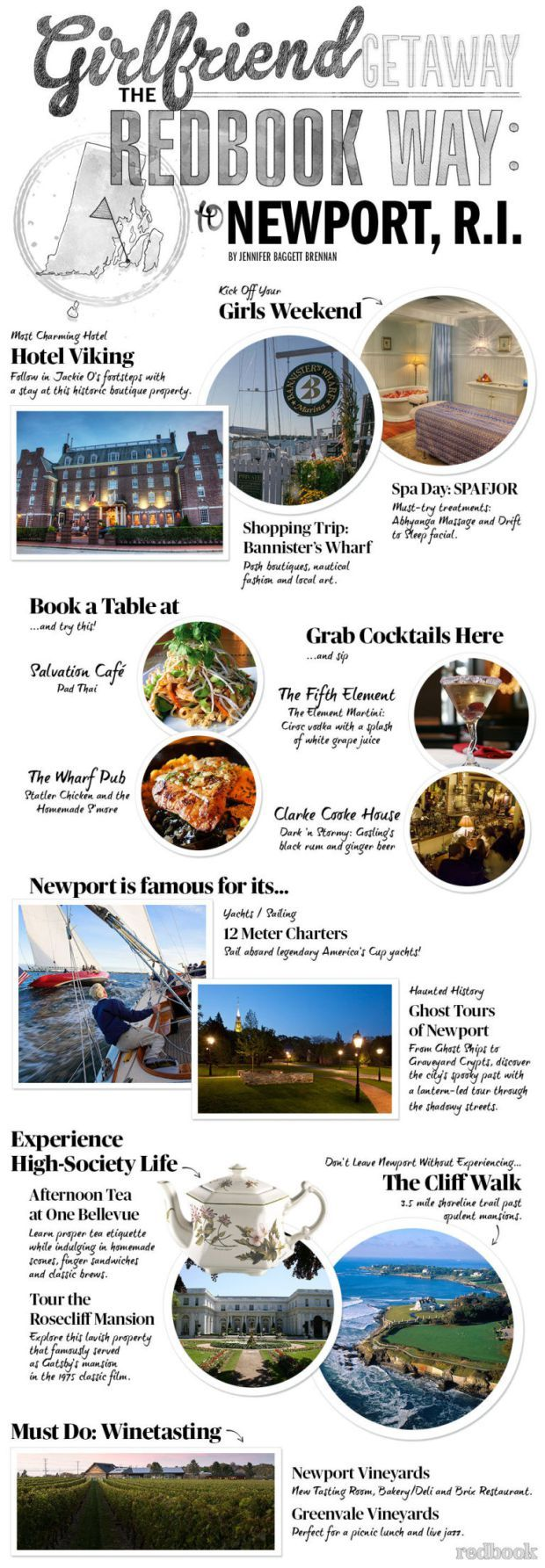 The Ultimate Girlfriend Getaway in #NewportRI, according to @redbookmagazine
