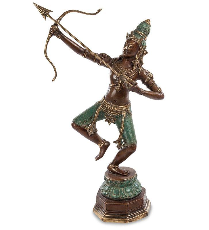 Фигурка «Храбрый Рама» 43-117 (бронза, о. Бали)   Бренд: Perunggu & Emas Nasional (Индонезия);    Страна производства: Индонезия;   Материал: Бронза;   Длина: 27 см;   Ширина: 13 см;   Высота: 43 см;   Вес: 1,83 кг;          #statuette #figurine #bronze #Indonesia #статуэтка #фигурка #бронза #Индонезия