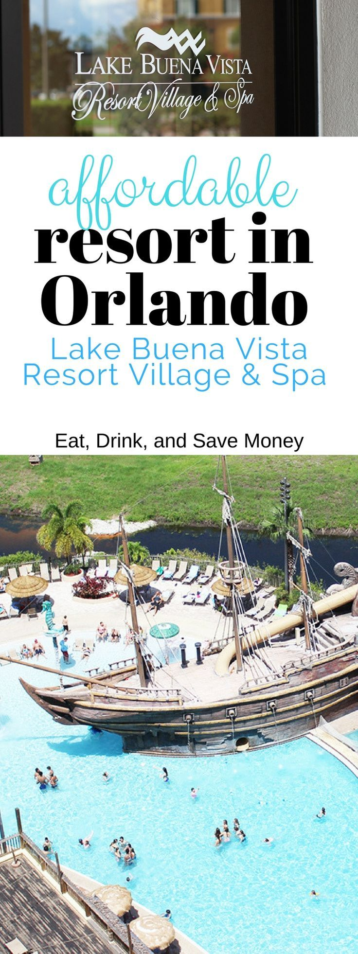 Affordable Resort in Orlando. Lake Buena Vista Resort Village and Spa Review. How to find an affordable hotel in Orlando.   Affordable Hotels in Orlando: Lake Buena Vista Resort Village and Spa http://eatdrinkandsavemoney.com/2017/06/30/affordable-hotels-