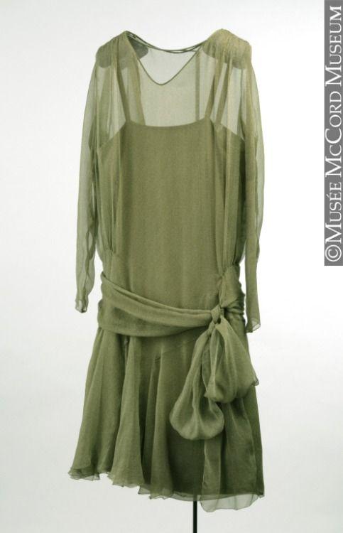 Dress, ca 1926, McCord Museum