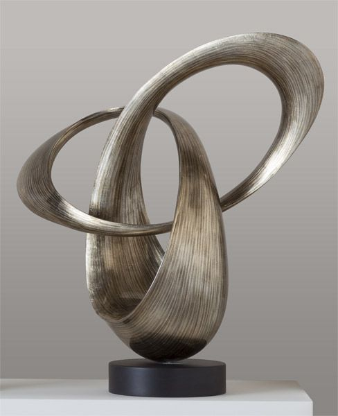 Lacquer Swirl Sculpture, Sculpture, Home Furnishings - The Museum Shop of The Art Institute of Chicago