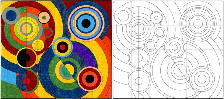 delaunay mural http://www.artprojectsforkids.org/2010/02/robery-delaunay-mural.html