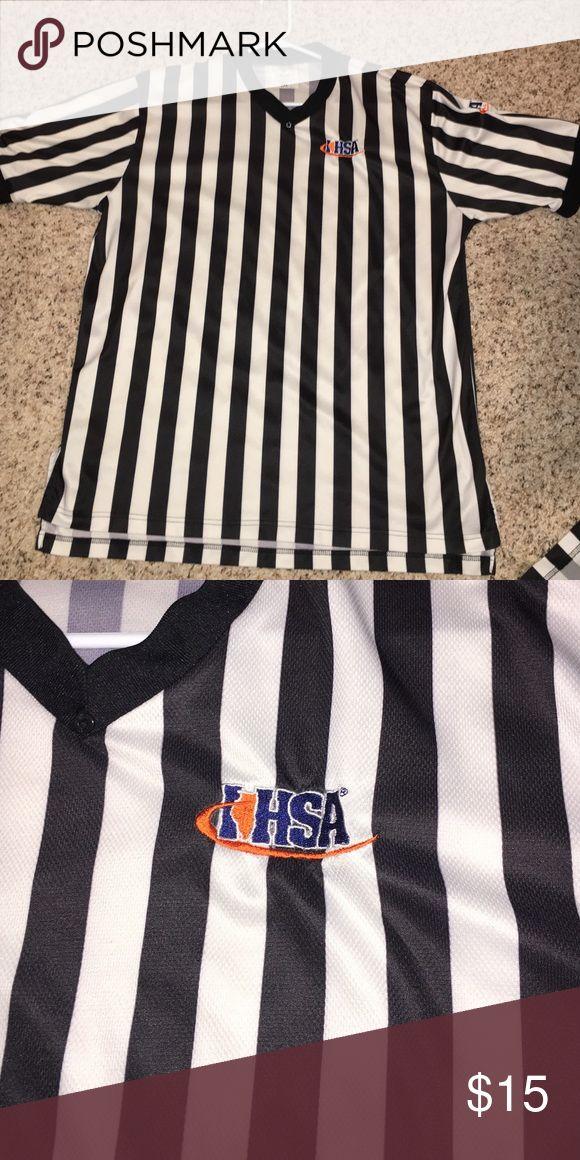 Official IHSA referee shirt 🏀🏀🏀 Official IHSA referee shirt 🏀🏀🏀 Shirts Tees - Short Sleeve