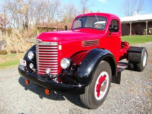 Antique International Harvester Semi Tractor : Images about international kb trucks on pinterest