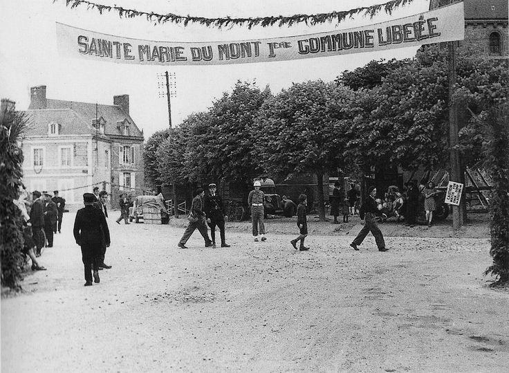 Sainte Marie Du Mont 1944