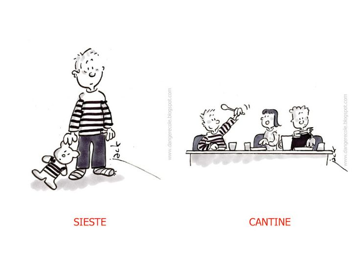 Images pour EDT : sieste - cantine