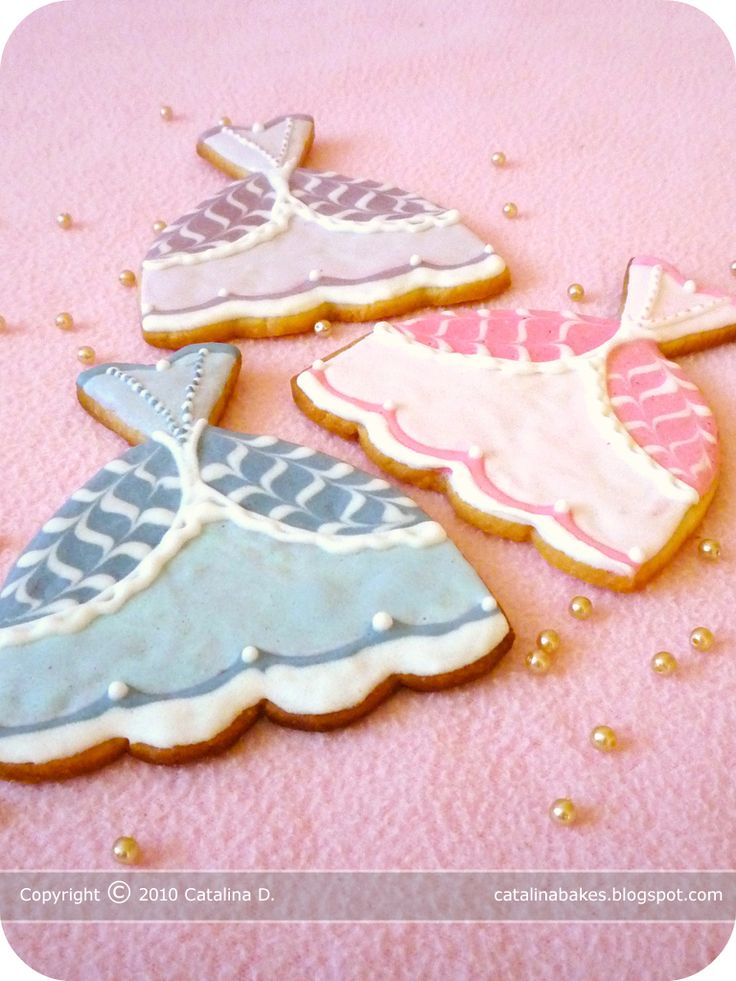 icing for fancy cookies | ... Cookies based on recipes from Peggy Porschen and The Joy of Baking