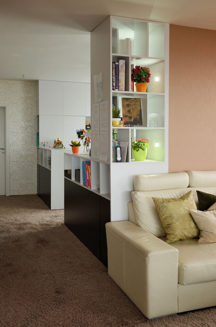 plošný koberec použitý v bytě