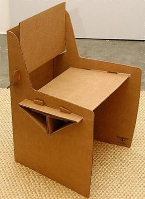 Chairs CARDBOARD CHAIR. See More. Moveis Feitos De Papelão