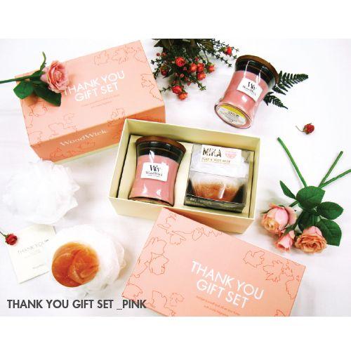 감사의 마음을 담아 로맨틱 로즈의 사랑스런 캔들을 선물하세요. #엘롯데 #우드윅 #thankyou #giftset #woodwick #romantic_rose #candle