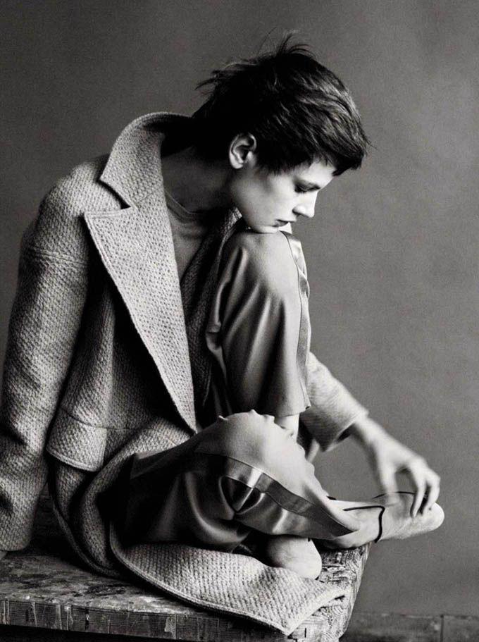 Saskia De Brauw  Vogue Italia  Paolo Roversi