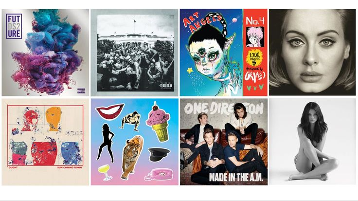 Sleater-Kinney and Duran Duran returned, Kendrick and Adele reigned, Royal Headache and Destruction Unit kept it raw. Here are Rob Sheffield's best albums of the year.