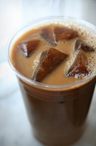 made my coffee ice cubes today!