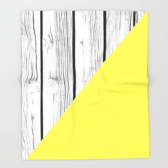 Yellow vs Wood Throw Blanket by ARTbyJWP #blankets #throwblankets #bedroom #homedecor #wood ---    Our seriously soft throw blankets are available in three sizes and feature vividly colored artwork on one side. Made of 100% polyester and sherpa fleece, these might be the softest blankets on the planet, so get ready to cozy up. They can be machine washed separately with cold water on gentle cycle. Tumble dry on low heat setting. Do not iron or dry clean.
