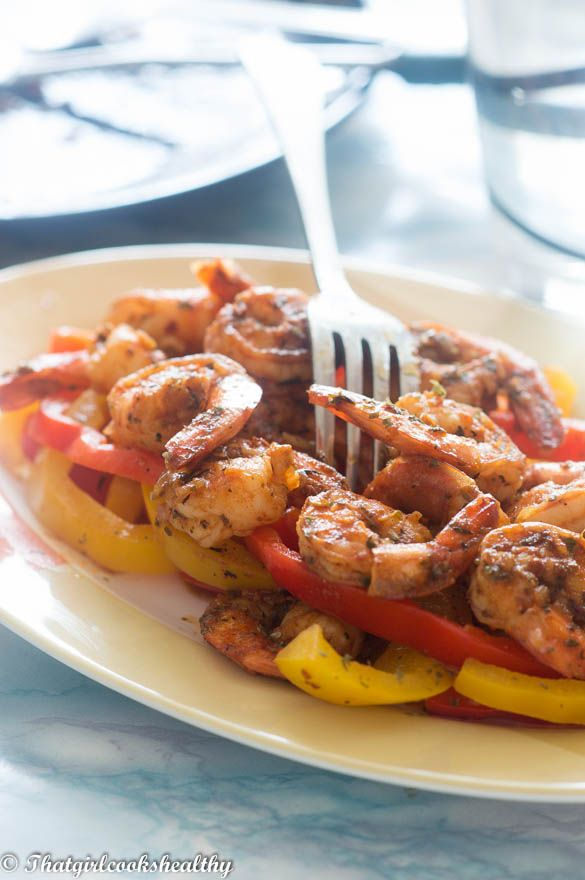 hot and spicy sweet paprika shrimp