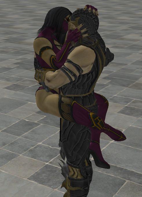 Mortal Kombat-Scorpion Woman(Fan Art) by Manittha on