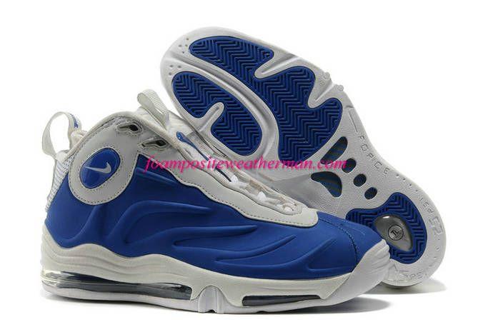 Royal Nike Total Air Foamposite Max Blue White