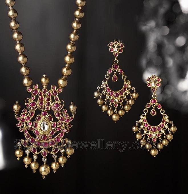 Stylish Temple jewellery | Jewellery Designs