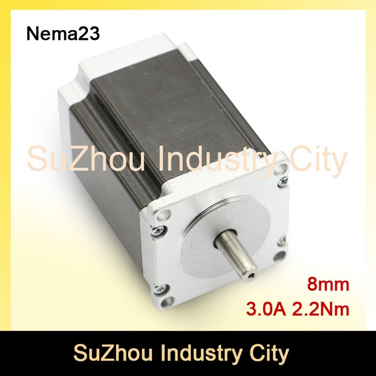 NEMA 23 CNC Stepper Motor 57x82mm 2.2N.m D=8 stepping motor 3A 315Oz-in for sale CNC Router Engraving milling machine 3D printer