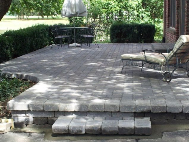 37 best Paver Patio images on Pinterest | Patio ideas, Backyard ...