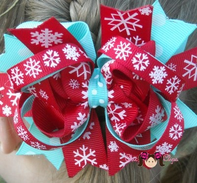Winter onederland Bow (and more adorable bows)