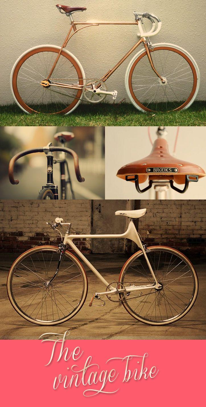 pinterest.com/fra411 #bicycle - Vintage Bike: Inspiration colors