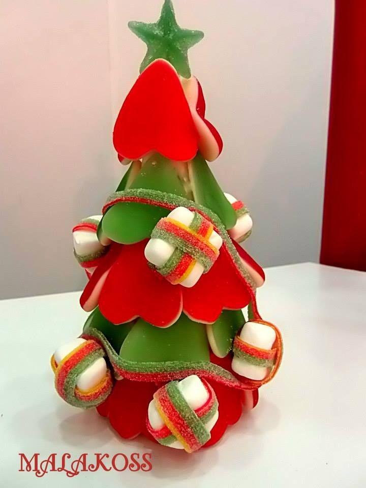 Arbolito de golosinas. #arbolnavidad #chuches