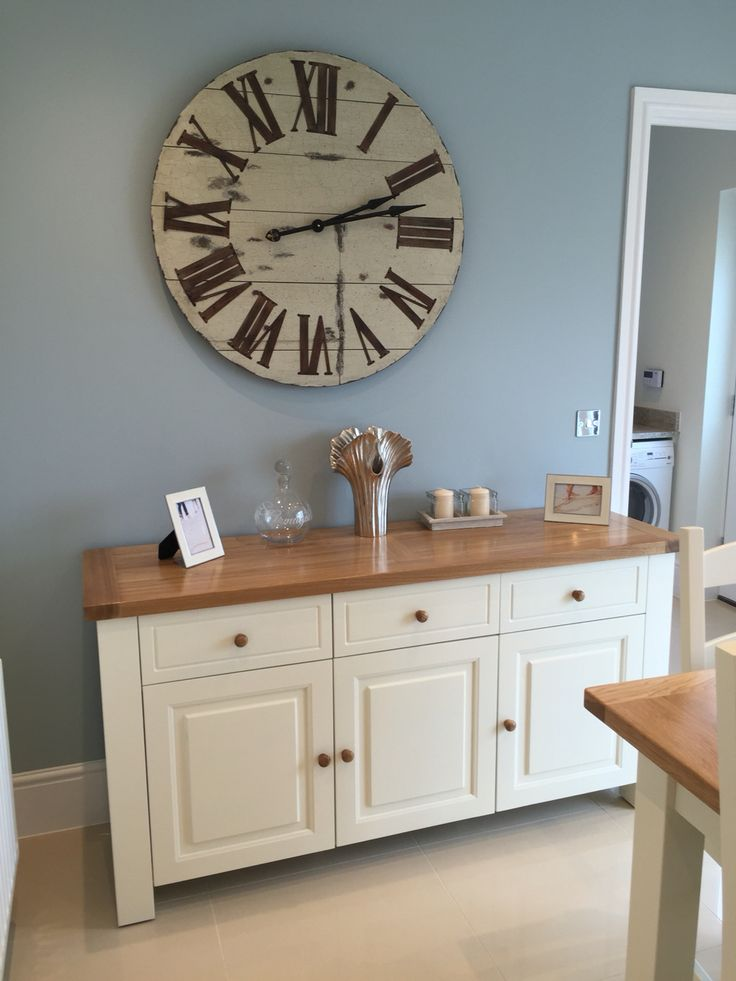 Sideboard and big clock