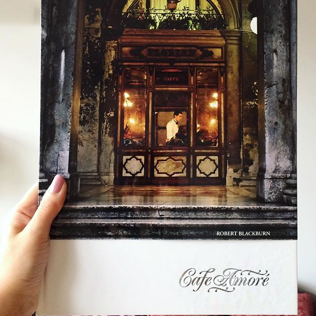 🇦🇺🇮🇹🇪🇸🇦🇹 Can't wait to sit back and relax while flicking through this beautiful book that captures coffee throughout Europe☕️👌🏽 CAFE AMORE ❤️ @andrewhoyne @hoynedesign @lavazzaaus @lavazzaofficial #cafeamore #andrewhoyne #robertblackburne #hoynedesign #coffeebook #cafebook #photography #melbournelifelovetravel #italy #spain #austria #travelbook #instatravel #instagood #instaread #europe #visiteurope #travel #write #explore #love #live #gift #forme #author #photos #travelphotos...