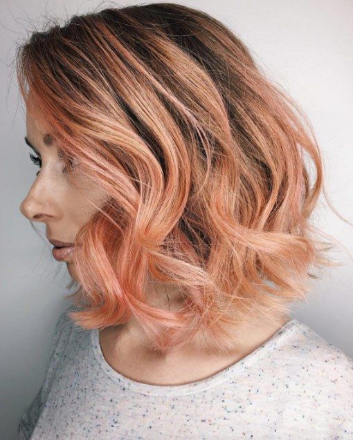 Trend Haircolor For Fall 2017 : Blorange Hair Celebrity Fashion Outfit Trends And Beauty Tips