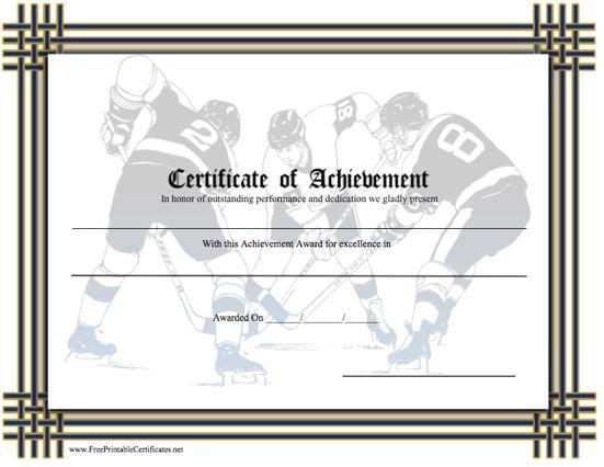17 Best images about Certificate Design – Free Achievement Certificates