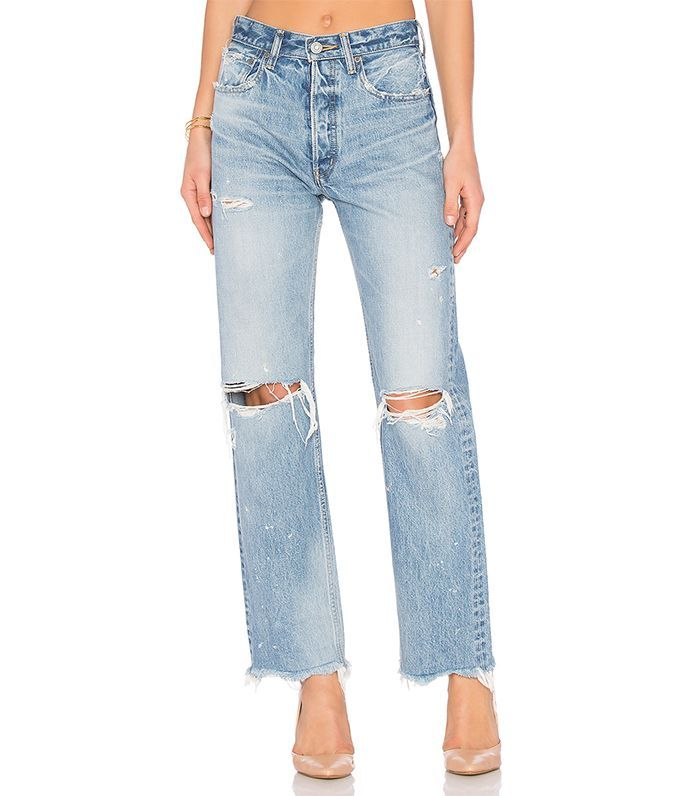 The Boyfriend Jeans Fashion Girls Wear on Repeat via @WhoWhatWearUK