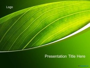Free Green Nature PPT Template